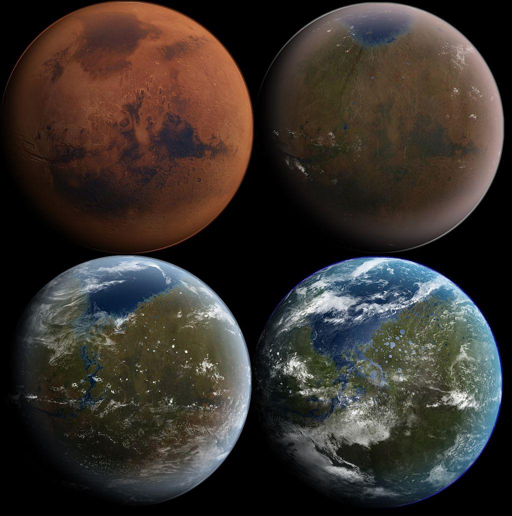 prévisions de terraforming de mars