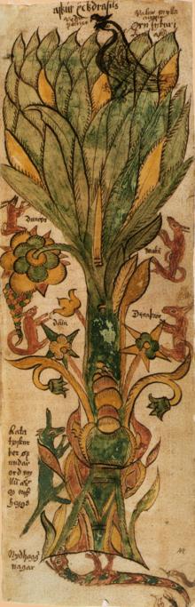 L'arbre monde, Yggdrasil