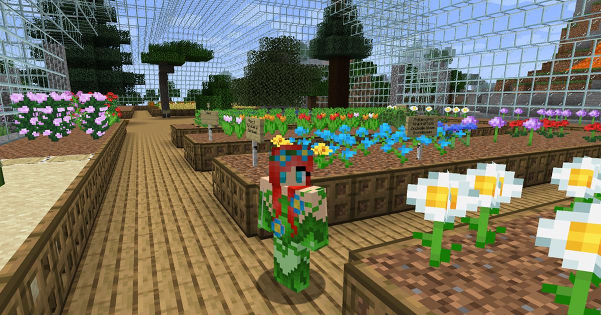 botanique minecraft